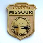 Missouri National Recreational River Junior Ranger Badge