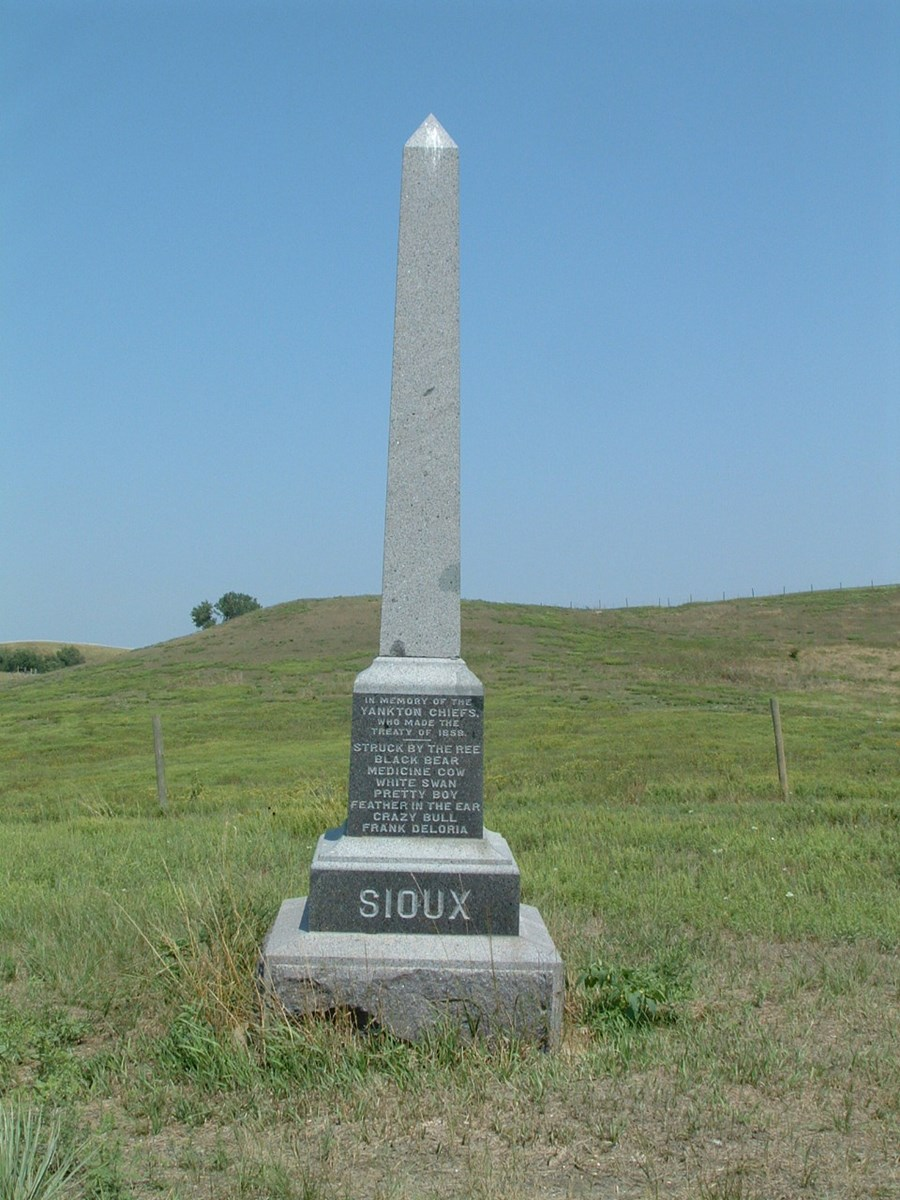 Yankton Sioux Treaty Monument
