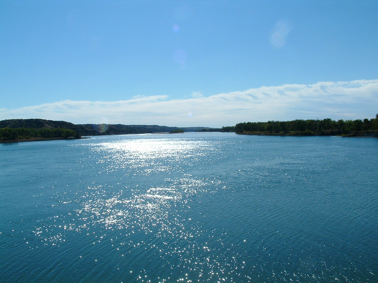 The missouri national recreational river s water quality is generally