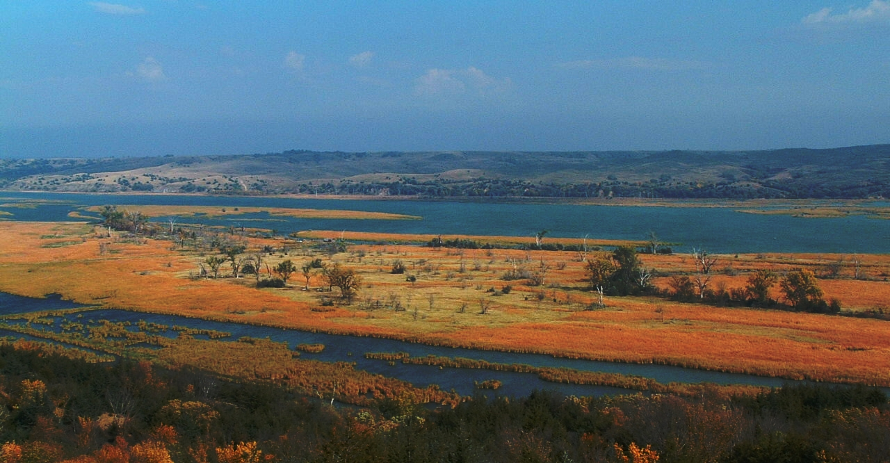 39 mile district from Niobrara State Park Overlook in autumn