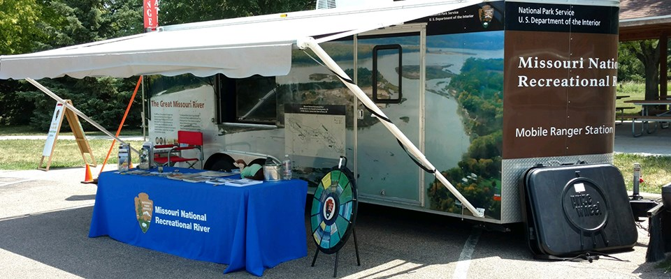 The Mobile Ranger Station is the park's visitor center on wheels.