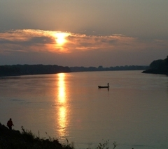 Sunrise on the Missouri National Recreational River