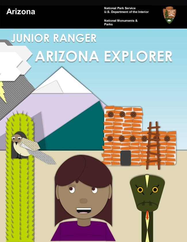 Arizona Explorer Junior Ranger Book