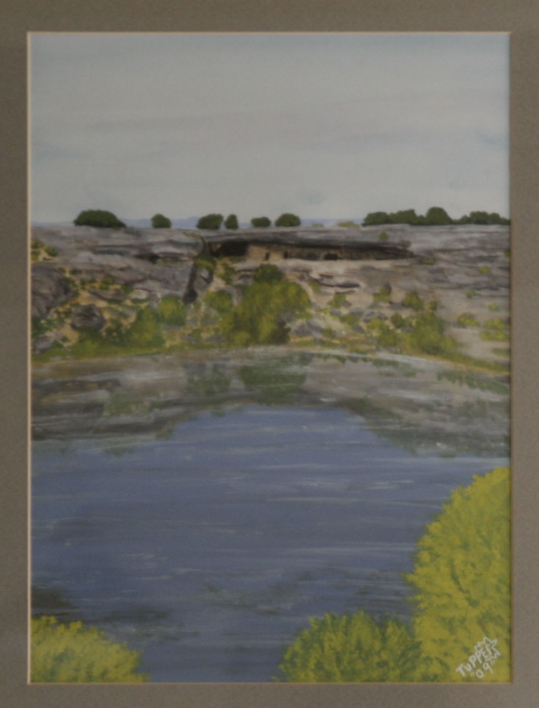 Montezuma Well by the hand of Tupper
