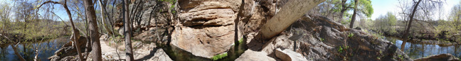 Montezuma Well Outlet