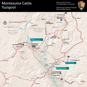 Maps - Montezuma Castle National Monument (U.S. National Park Service)