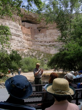 Ranger program at Montezuma Castle