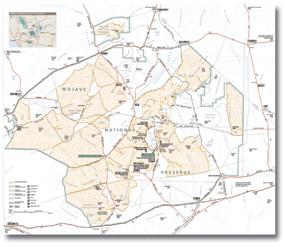 Maps Brochures Mojave National Preserve U S National