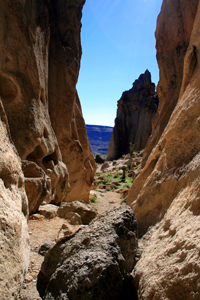 Banshee Canyon at Hole-in-the-Wall.