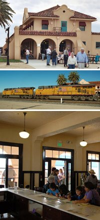 photos of Kelso Depot