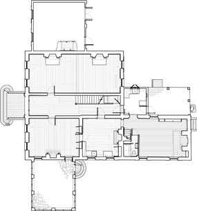 19Th Century Farmhouse Floor Plans http://www.nps.gov/mono/thomas-house-long-term-planning.htm