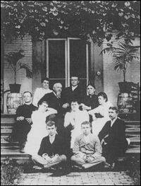 Gambrill family ca. 1890