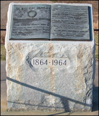 Maryland Civil War Marker