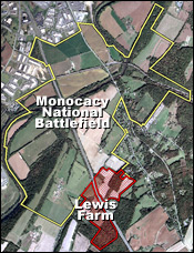 Lewis Farm in Monocacy National Battlefield