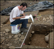Research excavations conducted at Thomas Farm
