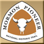Mormon Pioneer National Historic Trail logo