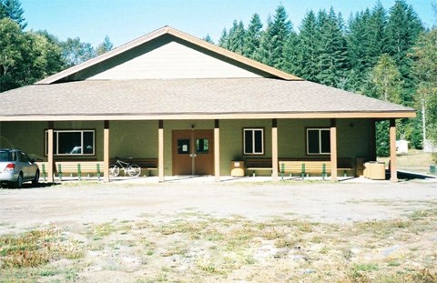 Education Center at Tahoma Woods administrative complex for Mount Rainier National Park.