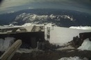 Looking out over some of the Camp Muir buildings towards the south.