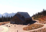 Looking west toward Jackson Visitor Center at Paradise. Thumbnail photo taken from the webcam on October 11, 2012.
