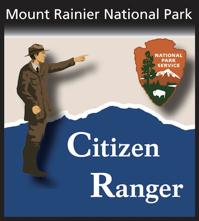 Mount Rainier Citizen Ranger Logo