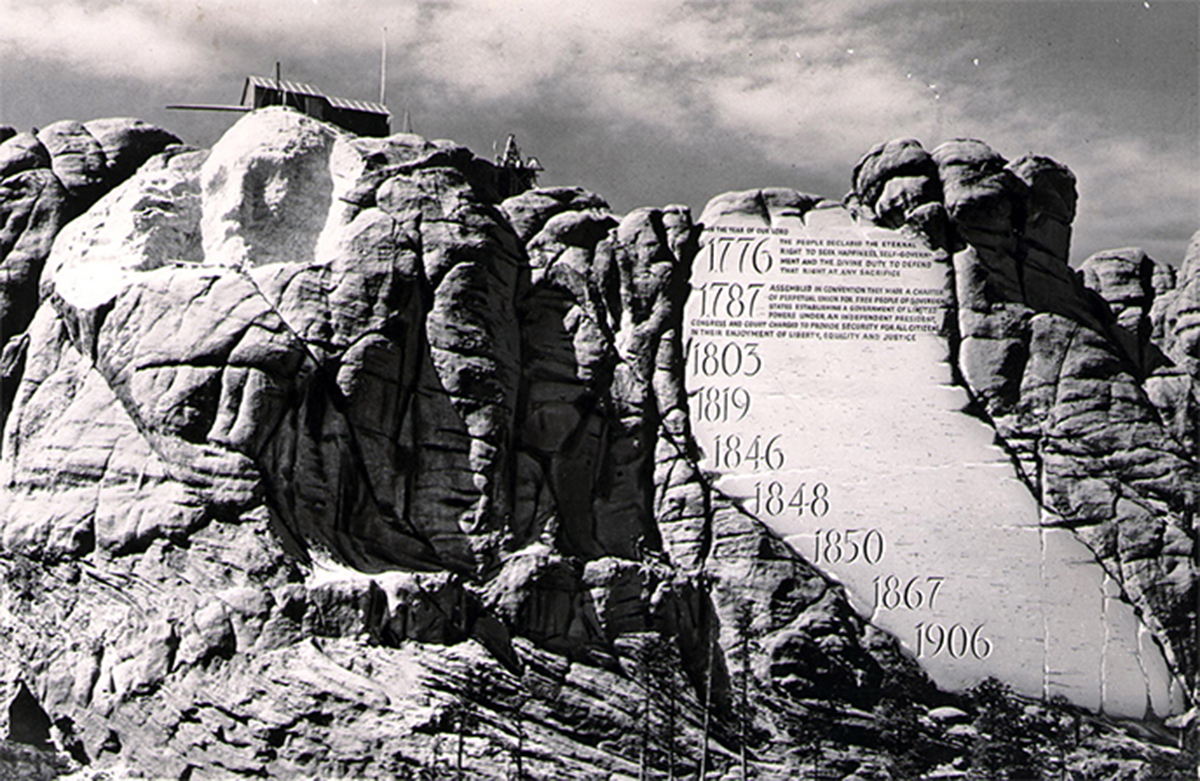 Hall Of Records Mount Rushmore National Memorial U S
