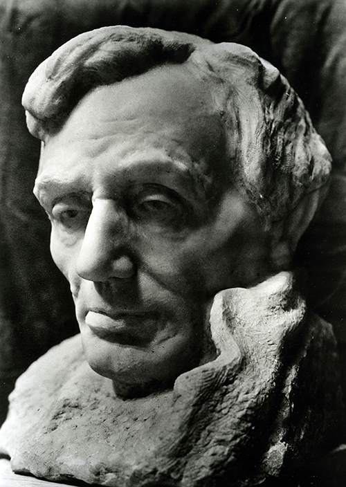Sculptor Gutzon Borglum Mount Rushmore National Memorial