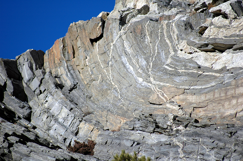 What makes folding in rocks happen dating
