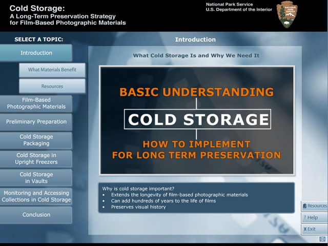 The image above shows the video screen for What Cold Storage is and Why We Need  sc 1 th 194 & NPS Cold Storage