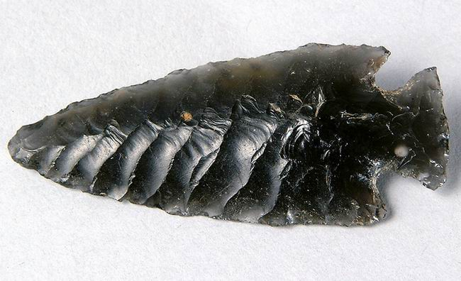 Image result for obsidian projectile point