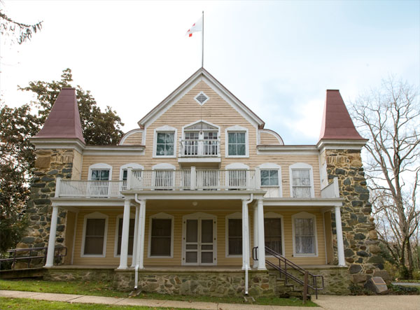 Clara barton national historic site for Clara house