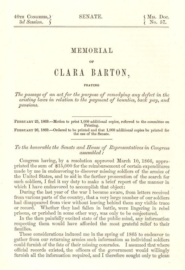 Clara Barton National Historic Site