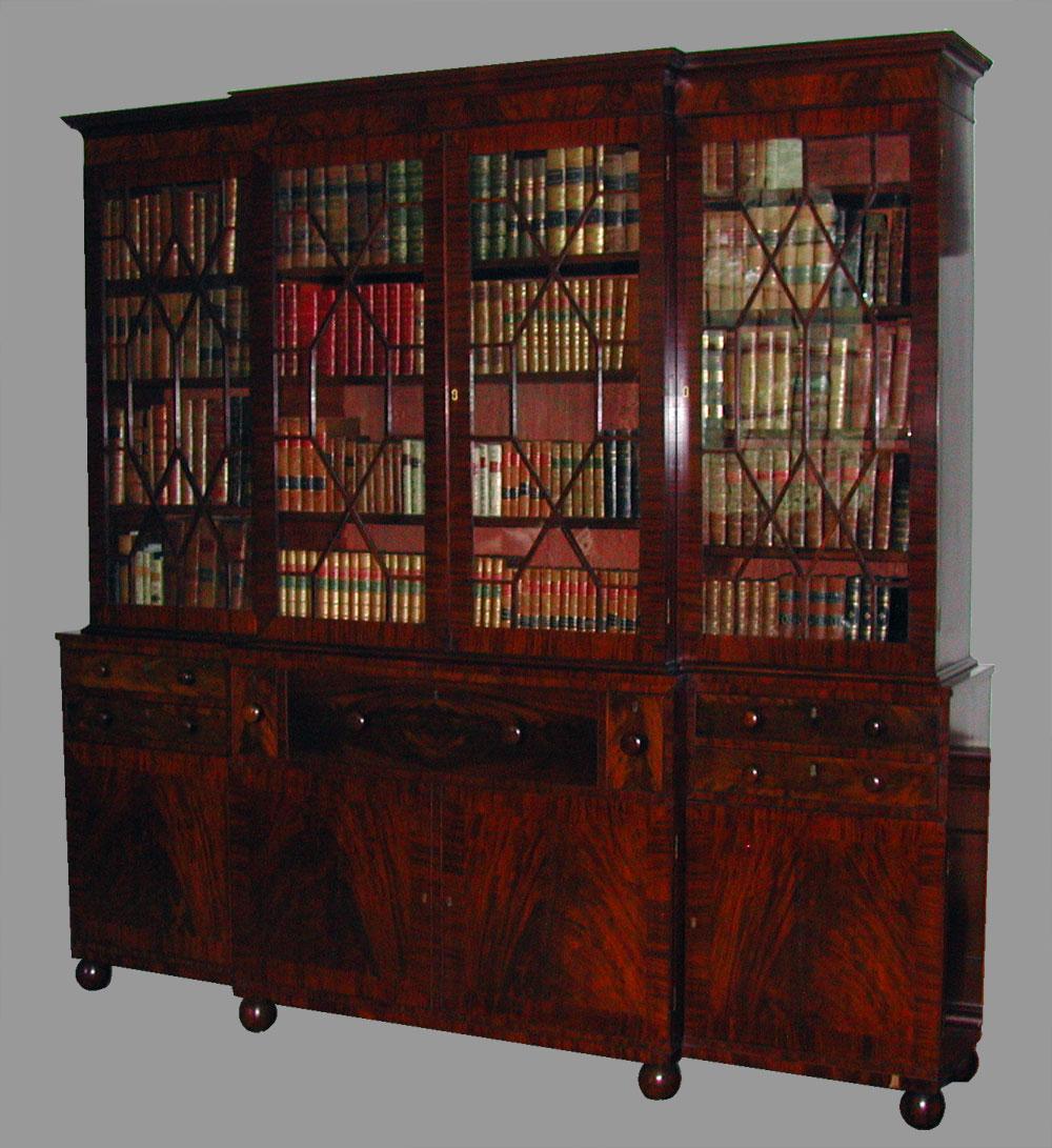 Hampton national historic site - Library Bookcase