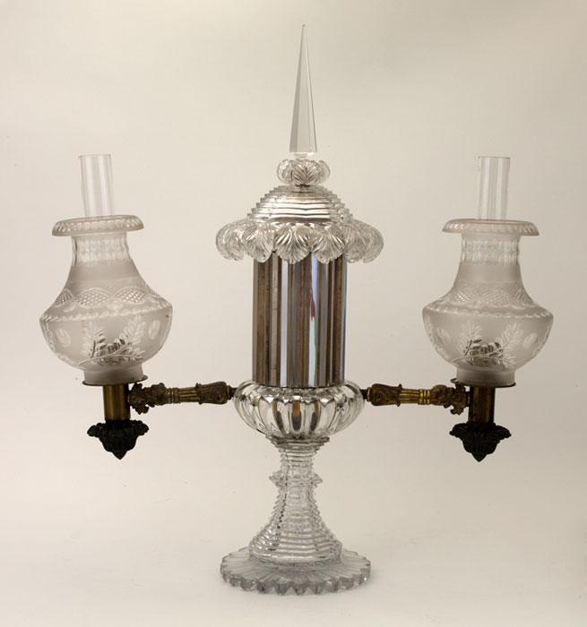 Double Arm Argand Lamp
