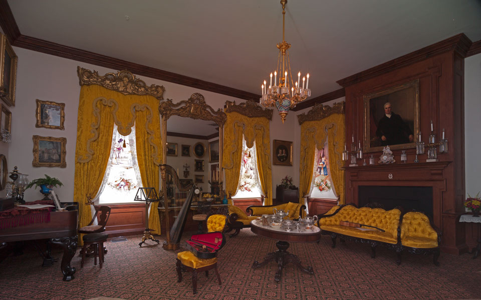 Hampton National Historic Site Music Room