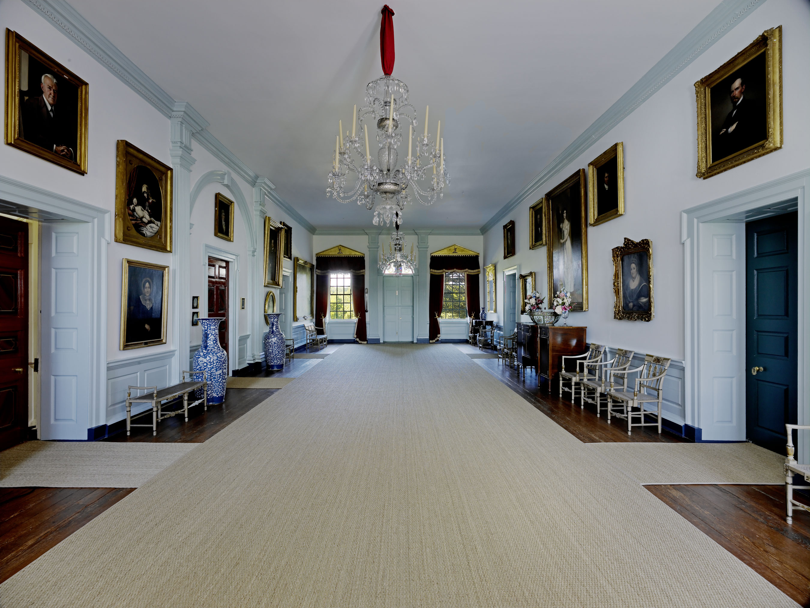 Hampton national historic site - Although Somewhat More Sparsely Furnished Today Than In The Historic Period The Great Hall Encapsulates The History Of Hampton And Generations Of The