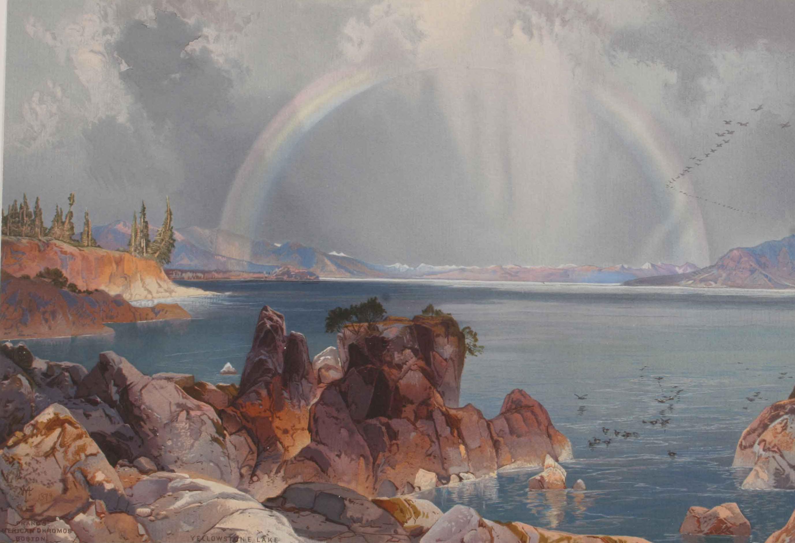 Image of Painting titled Yellowstone Lake