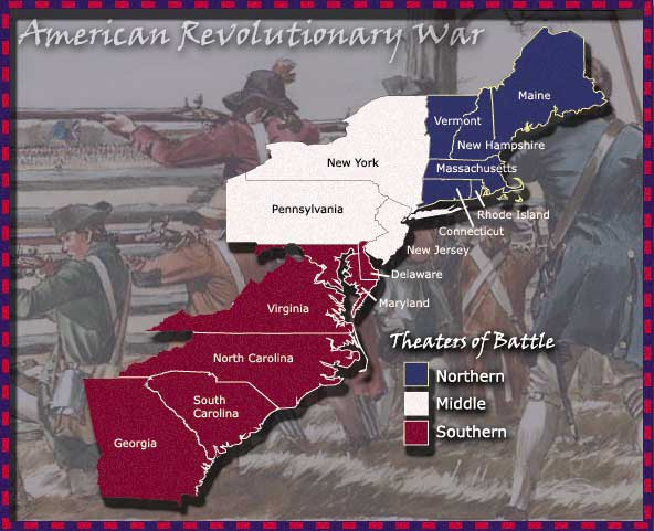 Theaters of Revolutionary War