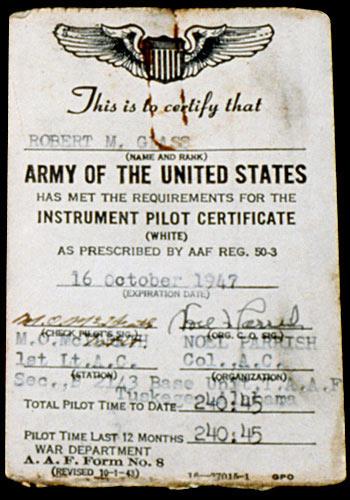 Tuskegee Airmen: Flight Documents