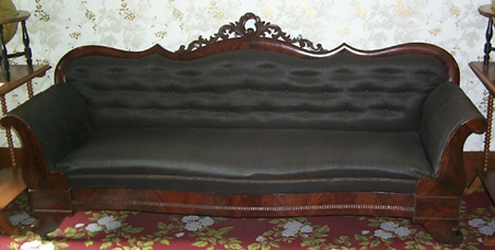 Abraham Lincoln S Sofa From His Springfield Home Liho1059