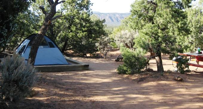 Eating Amp Sleeping Natural Bridges National Monument U S