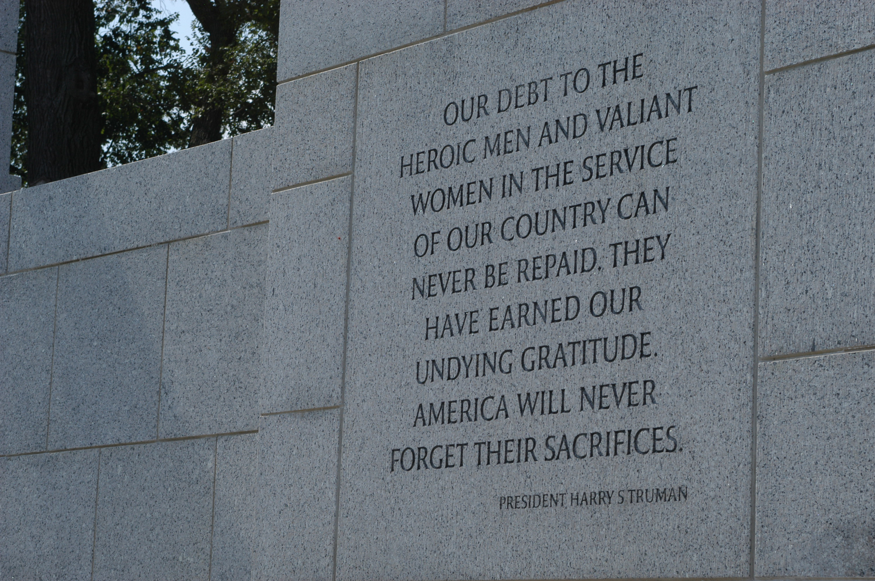 The G.I. Bill of Rights - Reward and Investment - National Mall ...