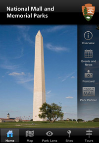 National Mall and Memorial Parks App Overview