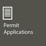 Grey Box with 'Permit Applications'