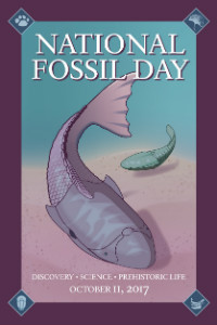 National Fossil Day logo
