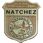Natchez National Historical Park Junior Ranger Badge