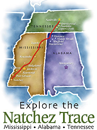 Logo of the Natchez Trace Compact