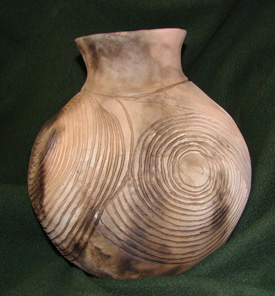 Replica Mississippian era pot