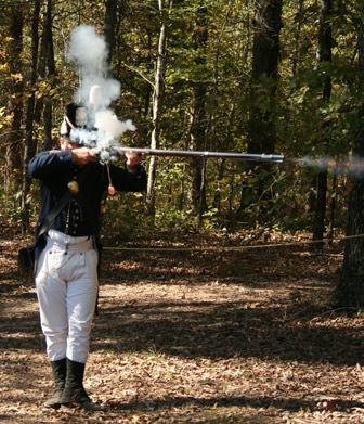 1814/1815 Live Fire Demonstration