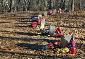 Unknown Confederate gravesites