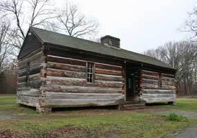 Meriwether Lewis Information Cabin